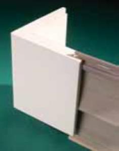 "Угол внешний с пазом - гладкий/под дерево (KLEER konceal Pre-made cornerboard) 10' (3000мм) x 3-1/2"" (88,9мм)"