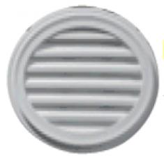 круглый верх (арочная) вент. решётка  356мм х 559мм, код 00 44 1422***, 25 цветов